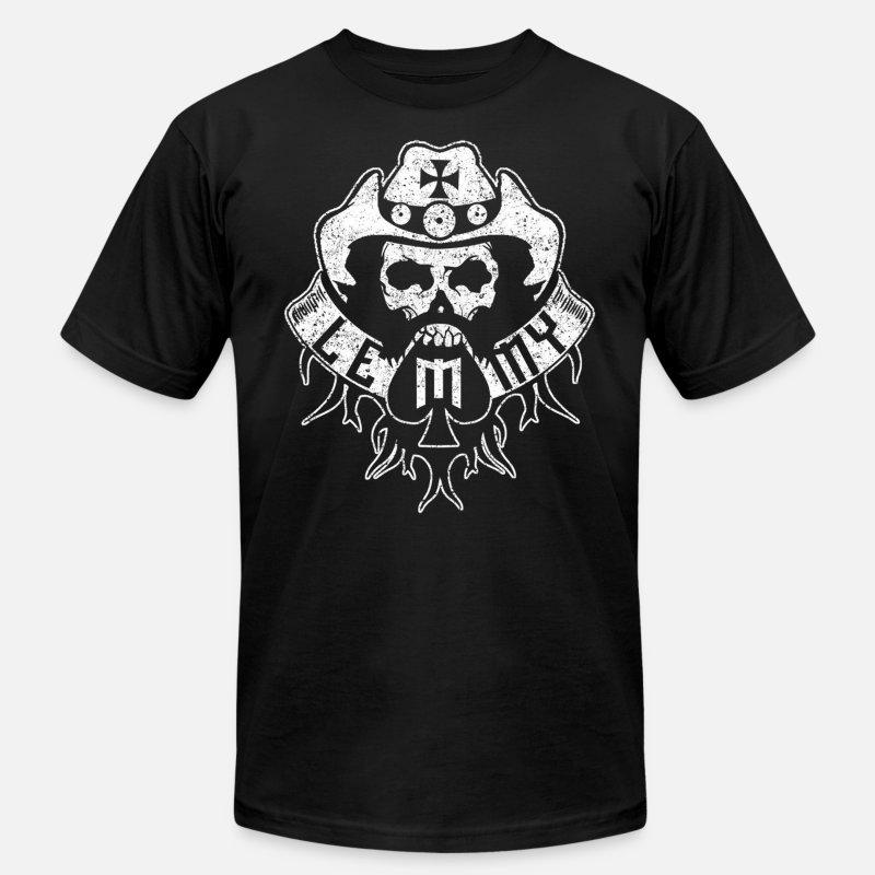 Lemmy fan - Heavy metal music lover Men's Jersey T-Shirt - kelly green