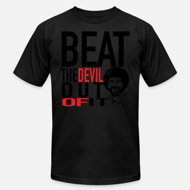 Trap God Beat the devil out of it cool T - shirt - Men's  Jersey T-Shirt