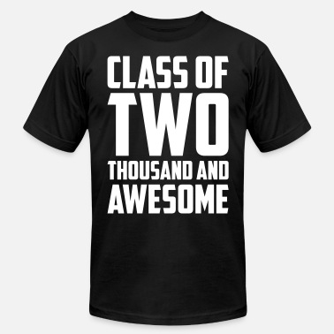 Awesome Two Class of Two Thousand and Awesome - Men's Jersey T-Shirt