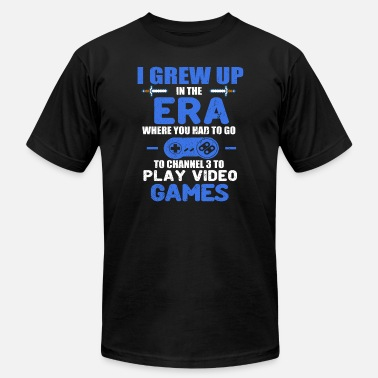 Grew I GREW UP IN THE ERA - Men's  Jersey T-Shirt