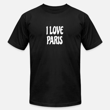 I Love Paris I love Paris shirt - Men's  Jersey T-Shirt