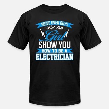 Electrician Beer Electrician - Show you how to be an electrician - Men's  Jersey T-Shirt
