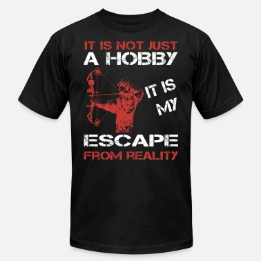 Professional Bowhunter Bowhunter - It is my escape from reality t-shirt - Men's Jersey T-Shirt