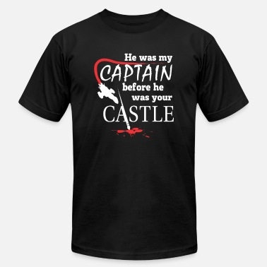 Captain Spaulding Captain - He was my captain before your castle - Men's  Jersey T-Shirt