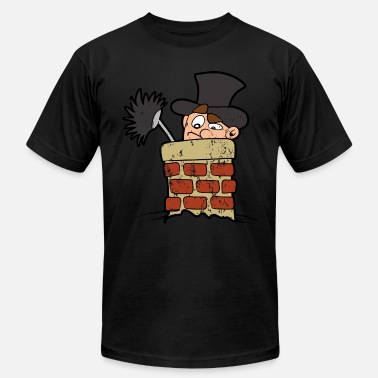 Sweep Retro Vintage Grunge Style Chimney Sweeper - Unisex Jersey T-Shirt