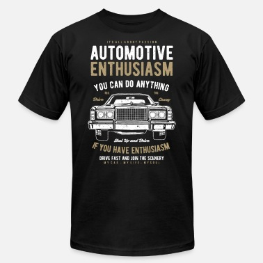 Enthusiasm Automotive Enthusiasm - Men's Jersey T-Shirt