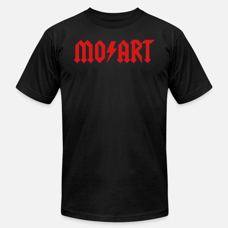 4c9084039676 Wolfgang T-Shirts - Wolfgang Amadeus Mozart - Hard Rock music - Men s  Jersey T