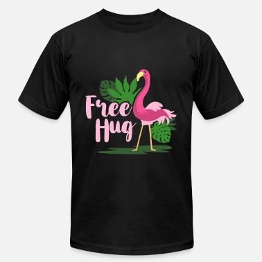 Embracement Embrace Flamingo - Unisex Jersey T-Shirt