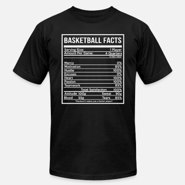 Womens Basketball BASKETBALL FACTS basketball girlfriend and cute - Unisex Jersey T-Shirt