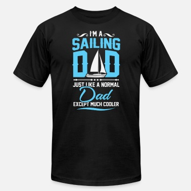 Sailing Dad Sailing dad - Men's  Jersey T-Shirt
