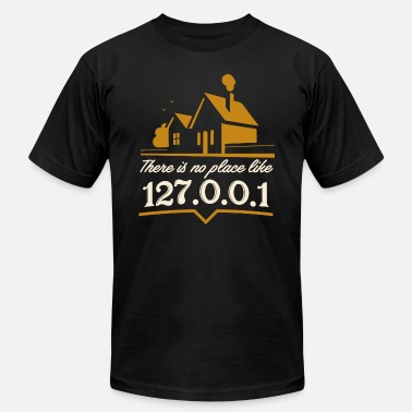 there is no place like 127.0.0.1 - Men's  Jersey T-Shirt