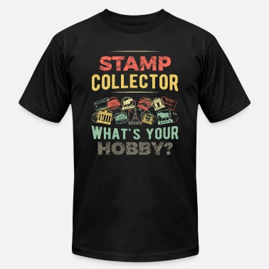 Stamp Stamp Collector - Hobby Collecting Stamps - Unisex Jersey T-Shirt