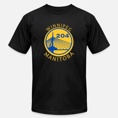 204 Winnipeg Golden Peg (Gold) - Men's Jersey T-Shirt