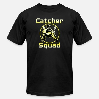 Catcher Softball Catcher Squad - Men's Jersey T-Shirt