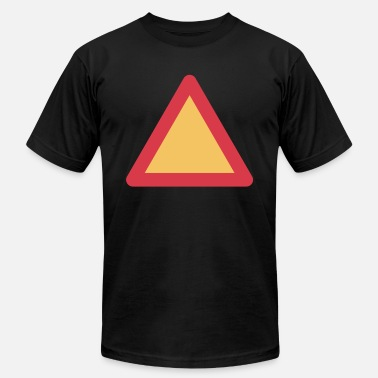 Red Triangle Red Yelow triangle 4500x5400 - Men's  Jersey T-Shirt