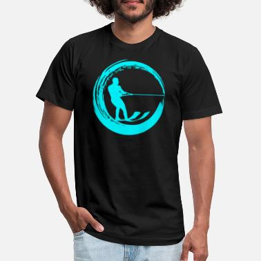 Water Water Skiing Gift - Unisex Jersey T-Shirt