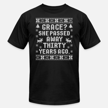 Passed Grace She Passed Away Thirty Years Ago - Men's Jersey T-Shirt