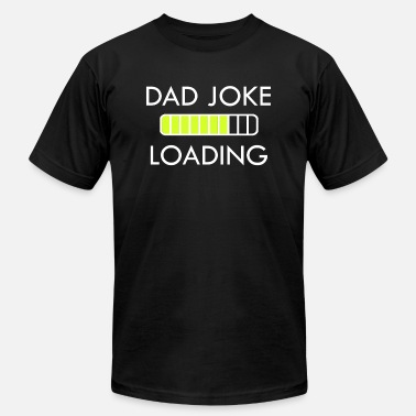 Funny-dad-gift Dad Joke Loading - Funny Shirts for Dad - Men's Jersey T-Shirt