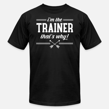 Sports trainer_why - Unisex Jersey T-Shirt
