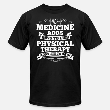 Therapy Physio Physical Therapy/Physiotherapist/Physio/Therapist - Men's  Jersey T-Shirt