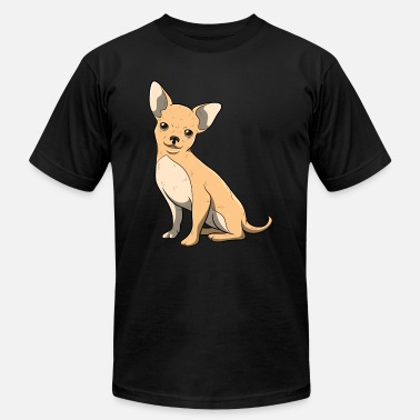 Fourlegged Friends Chihuahua Pet Dog Owner Dog Gift - Unisex Jersey T-Shirt