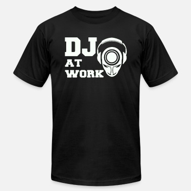 Dj@work DJ AT WORK - Men's Jersey T-Shirt