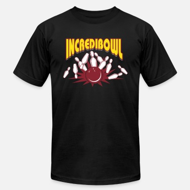 Bowling Alley Bowling - Incredibowl - Unisex Jersey T-Shirt