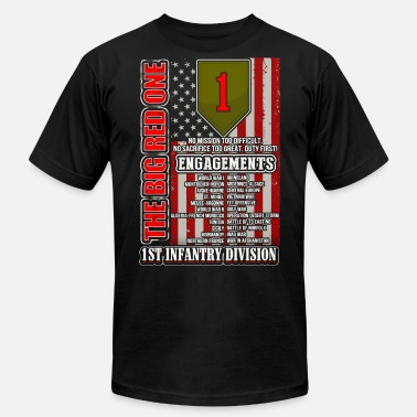 3486dfc9 1st Infantry division - The big red one Men's Tall T-Shirt   Spreadshirt