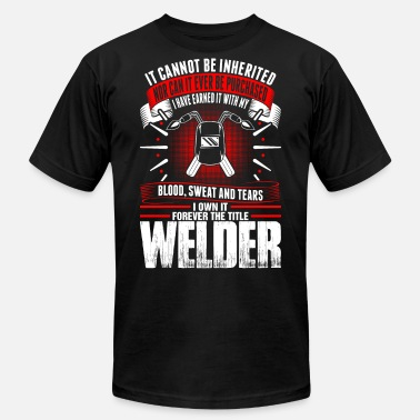 Forever The Title Forever The Title Welder Tshirt - Men's Jersey T-Shirt