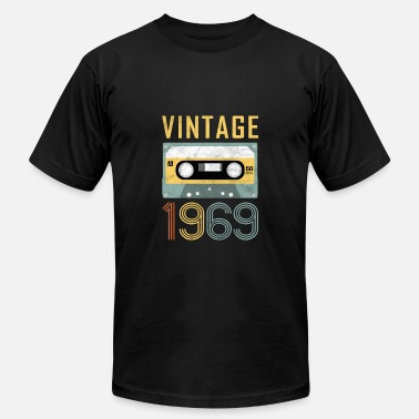 Mens 50th Birthday Gift Born In 1969 Vintage Mixtape