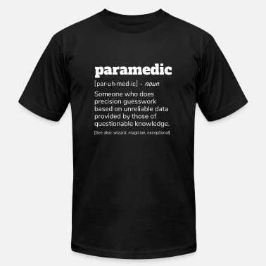 Paramedic Nurse Paramedic Definition T-Shirt, Gift Shirt Nurses - Men's  Jersey T-Shirt