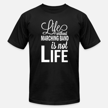 Band Leader Marching Band Gift for School Bands - Men's  Jersey T-Shirt
