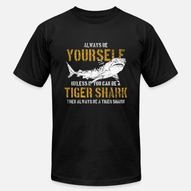 Tiger Shark Tiger Shark Animal Shark Fin Sharks Fish Sea Gift - Unisex Jersey T-Shirt