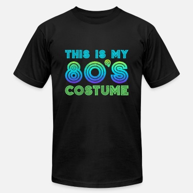 80s-comedy 80s This Is My 80s Costume - Men's  Jersey T-Shirt