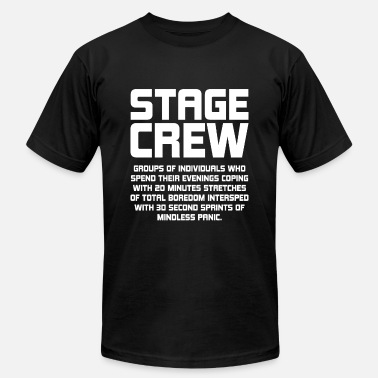 Stage Wear Theater Stage Crew T-Shirt - Men's  Jersey T-Shirt