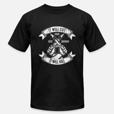 Fire Knife - Unisex Jersey T-Shirt