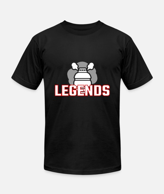 Boom T-Shirts - Grenade Gift Legends - Unisex Jersey T-Shirt black