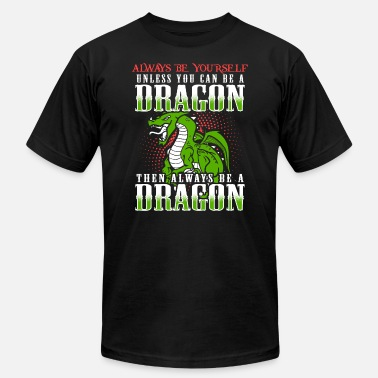 Dragon Lover Dragon, Dragon Lover, Chinese Dragon, Quote - Men's Jersey T-Shirt