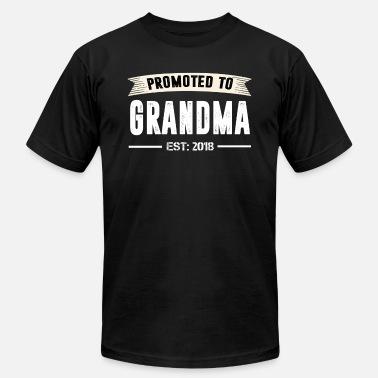 442ce27e Promoted To Grandma Future Grandma Shirt Promoted To Grandma Est 2018 -  Men'. Men's Jersey T-Shirt