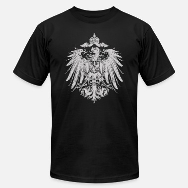 Imperial German Eagle - Flag - Men's  Jersey T-Shirt
