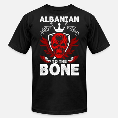 Albanians Albanian To The Bone - Men's Jersey T-Shirt