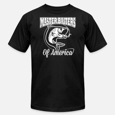 Math Masters MASTER BAITER OF AMERICA - Men's  Jersey T-Shirt