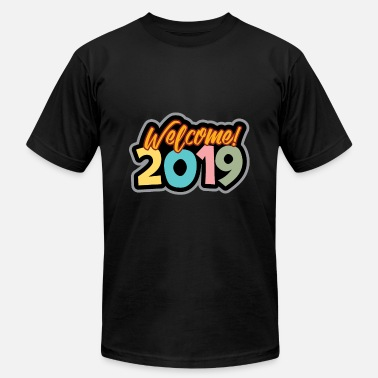 New Years Day New Year's Eve 2019 New Year's Day - Men's Fine Jersey T-Shirt