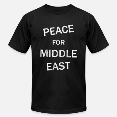 Middle East Peace middle east - Men's Jersey T-Shirt
