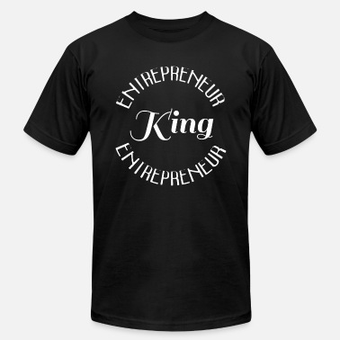 Young Entrepreneur ENTREPRENEUR KING - Men's  Jersey T-Shirt