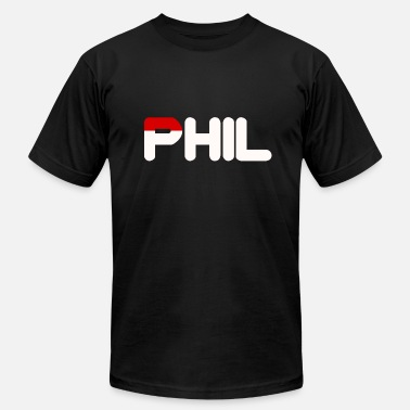 Phil Birthday Phil White & Red Sportwears - Men's Jersey T-Shirt