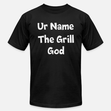 Grill God Ur name the grill god - Men's  Jersey T-Shirt