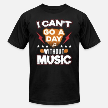 Pop Rock I Can't Go A Day Without Music - Men's  Jersey T-Shirt