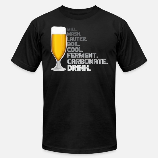 Beer T-Shirts - Craft Beer - Men's Jersey T-Shirt black