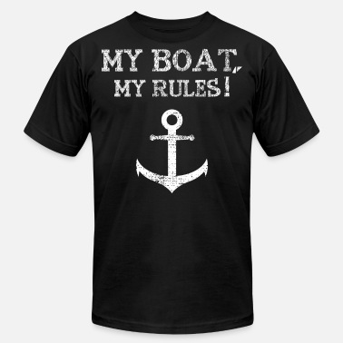 Boat Crew Anchor boat sailing crew - Men's  Jersey T-Shirt